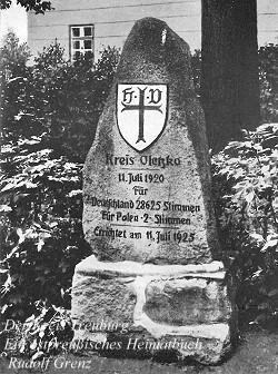 Olecko pomnik plebiscytowy